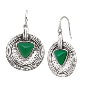 Emerald Isle Drop Earrings