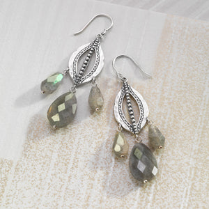 Flora Drop Earrings