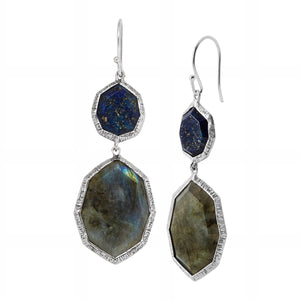 Lapis of Luxury Drop Earrings