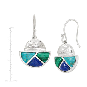 Modern Geo Drop Earrings