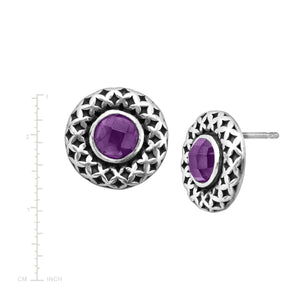 Mulberry Stud Earrings