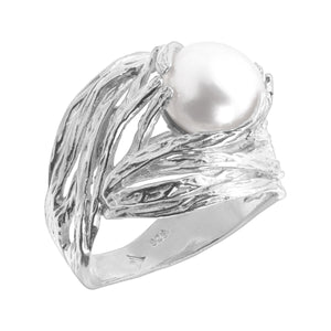 Nested Pearl Ring
