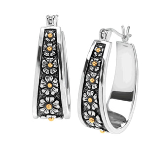 Primavera Hoop Earrings