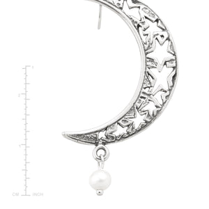 Promise Me The Moon Earrings