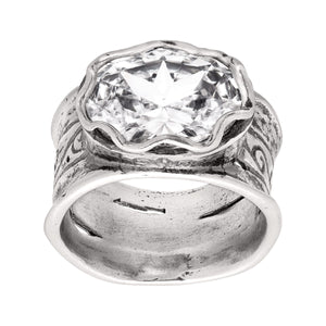 Rustic Royalty Ring