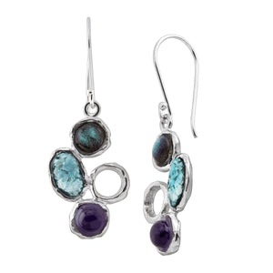 Stone's Throw Drop Earrings