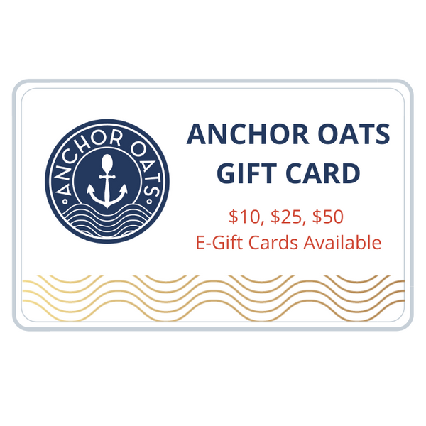 Anchor Oats gift card