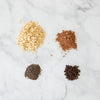 Double chocolate yogurt oats mix-in ingredients