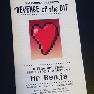 """Revenge of the Bit"" Art Catalog"