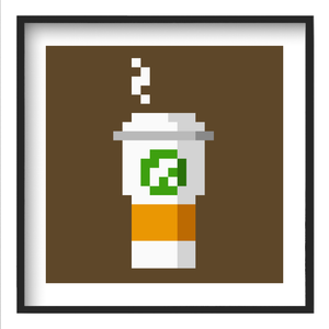 """Expensive Coffee"" - 12x12 Fine Art Print"