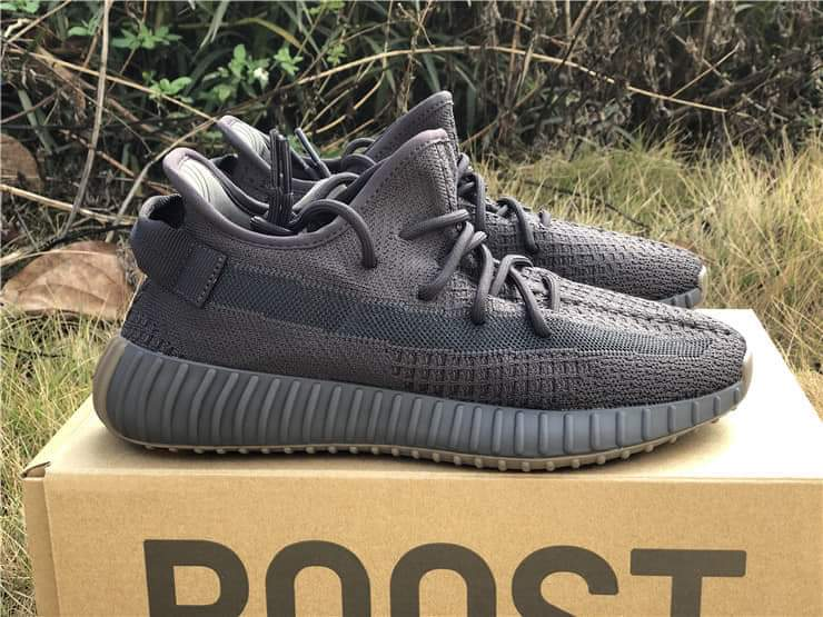 Yeezy black and light brown