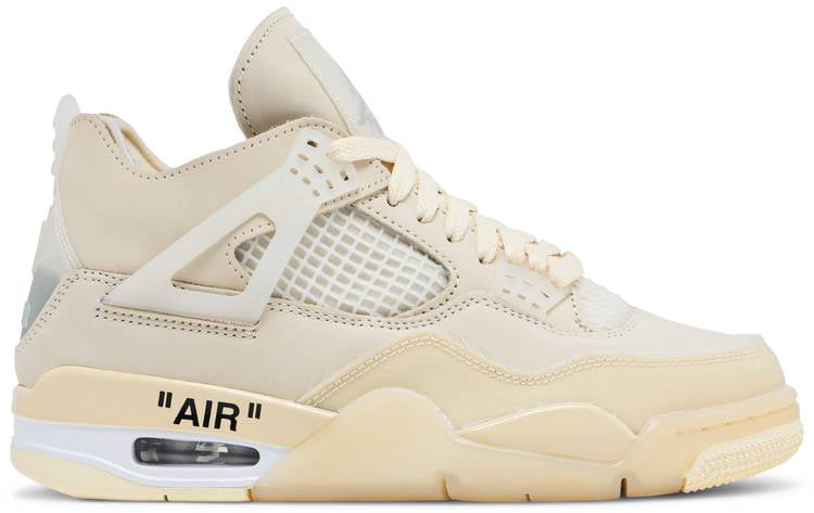 Off-White x Wmns Air Jordan 4 SP 'Sail