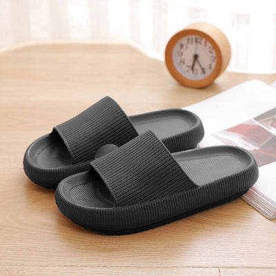 Thick Platform Slippers Women Indoor Bathroom Slipper Soft EVA Anti-slip Lovers Home Floor Slides Ladies Summer Shoes SH426