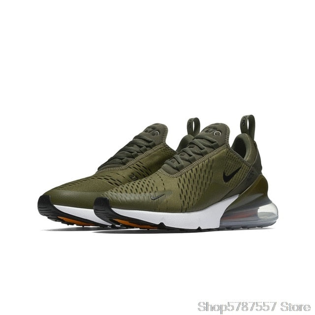 HOT Nike Air Max 270 Running Shoes Sneaker Men Women Outdoor Sports Walking Athletic Unisex Sneakers 100%Original Authentic