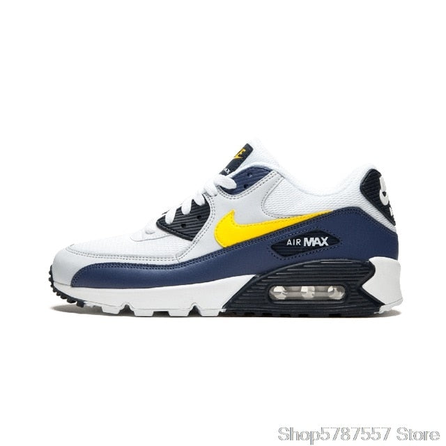 Airmax 90 Original NIKE AIR MAX 90 ESSENTIAL men's Running Shoes Sport Outdoor Sneakers Athletic Designer Footwear 325213-131