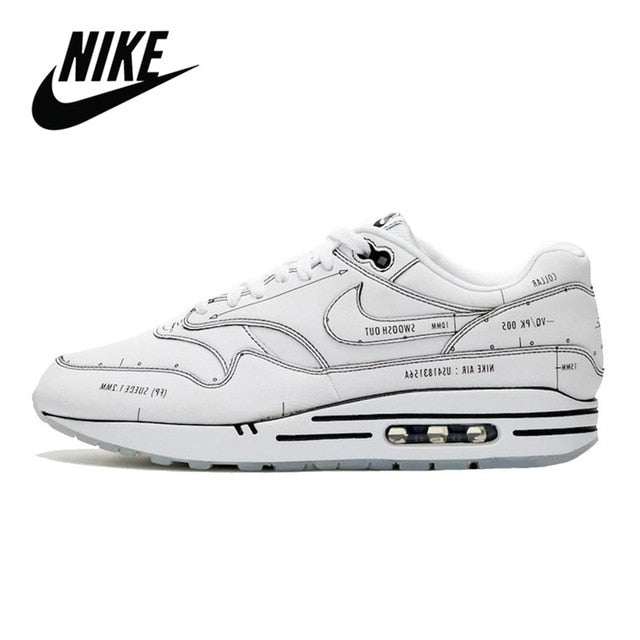 Original Nike Air Max 1 Tokyo Maze On Air Men Shoes Outdoor Sports Sneakers Breathable Unisex Air Max 87 Women's Running Shoes