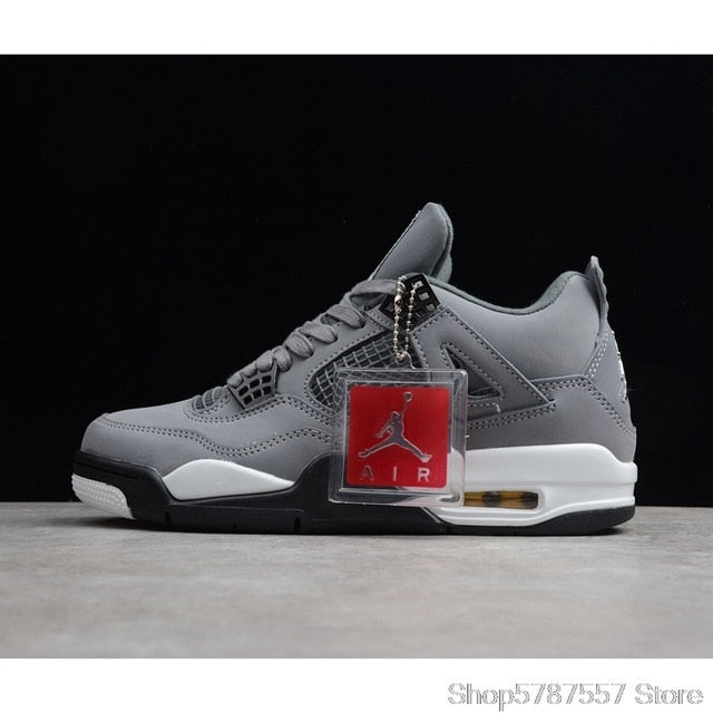 Nike Air Jordan 4 Denim AJ4 Breathable Men's New Arrival Authentic Basketball Shoes Sports Sneakers size40-46