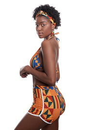 AKEE KENTE WOMAN SHORT