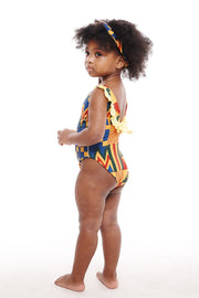 AKEE kente one piece girl