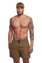 AYABA YELLOW/BROWN MEN SHORT