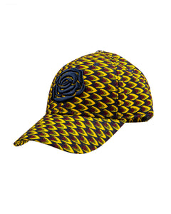 Cap AYABA Yellow/Brown