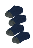 Copy of Low Cut Trainer Socks with Bamboo Charcoal for Men (4 pairs) - 防曬太陽帽  功能內衣專門店  Sunna Character