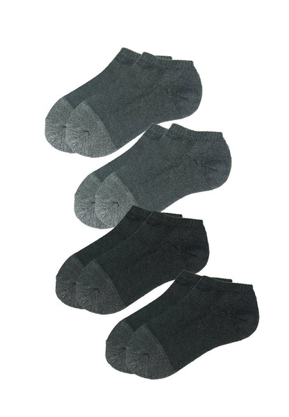 Low Cut Trainer Socks with Bamboo Charcoal (4 pairs) - 防曬太陽帽  功能內衣專門店  Sunna Character