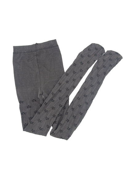 Mid Waist Legging Tights with Star Patterns - 防曬太陽帽  功能內衣專門店  Sunna Character