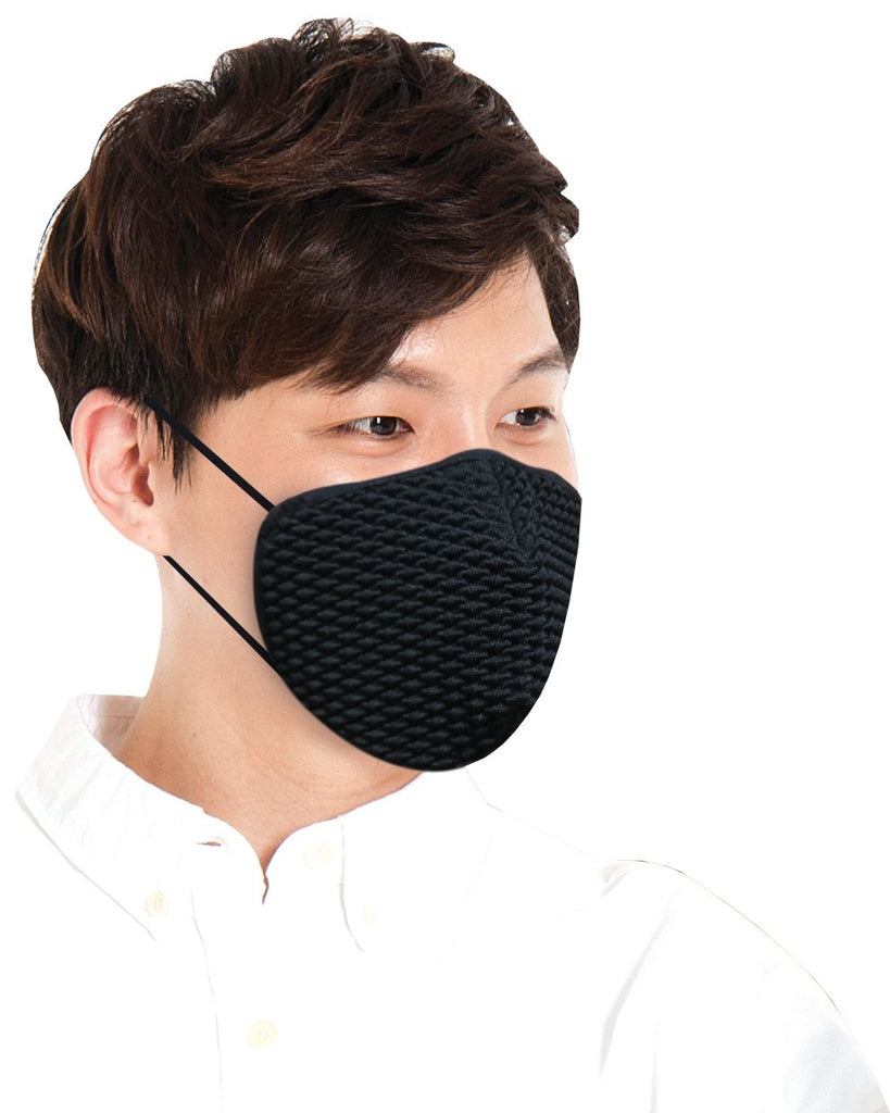Washable Anti-bacterial Copper Mask (Wash 100 Times) - Sunna Character
