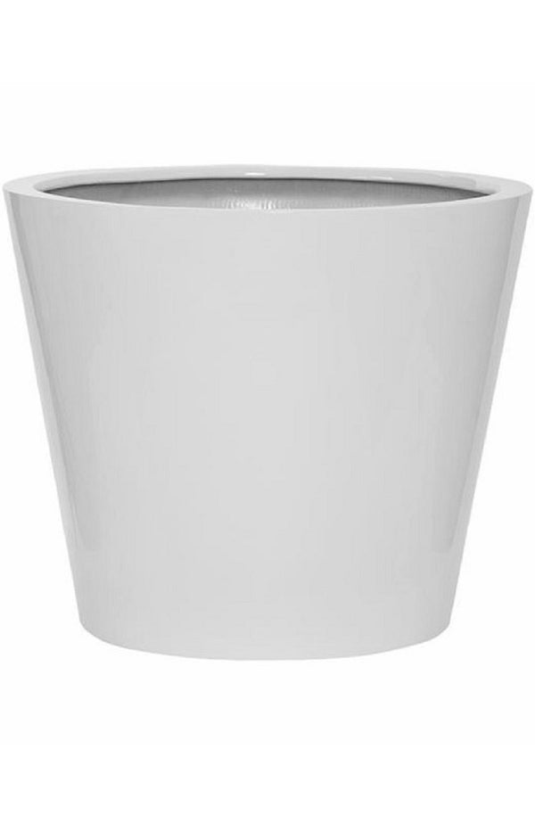 Bucket Glossy Weiß Finestgreen