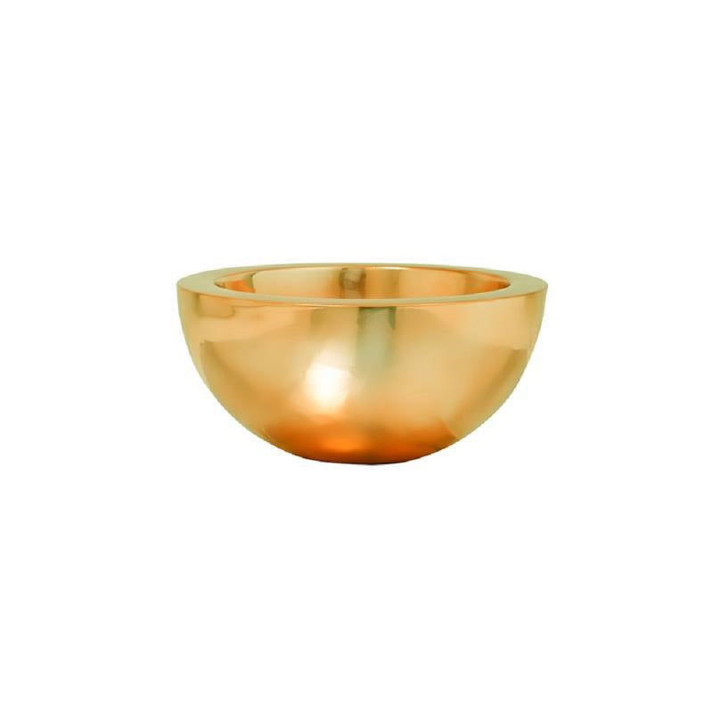 Vic Bowl Platinum Gold Finestgreen