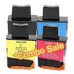Brother 15-Pack LC41  New Compatible Inkjet Cartridge