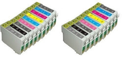 EPSON  Combo Pack of 18 Stylus Photo R2400 cartridges