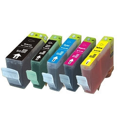 CANON 5 PACK Combo INK Cartridges for CANON PGI-250XL CLI-251XL