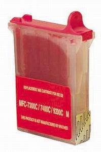 Brother LC04M New Magenta  Compatible Inkjet Cartridge