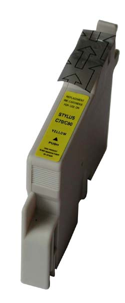 Epson Compatible Yellow Ink Cartridge -Replaces:  Epson T032420