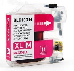 Compatible Brother LC103 Magenta Ink Cartridge HY