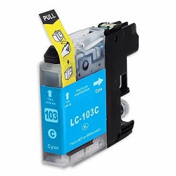 Brother Compatible  LC103XL Cyan Ink Cartridge HY