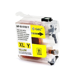 Brother Compatible LC103XL Yellow Ink Cartridge HY