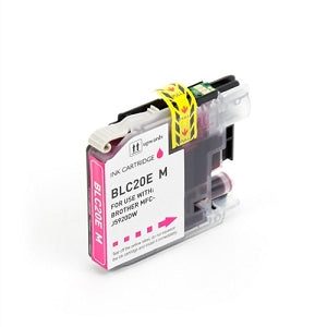 Brother LC20EM Magenta Super  High Yield Compatible Ink Cartridge