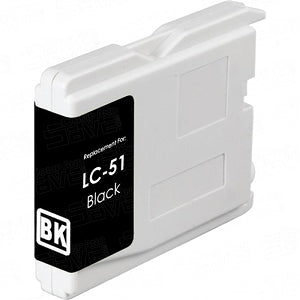 Brother LC51BK Compatible Black Inkjet Cartridge
