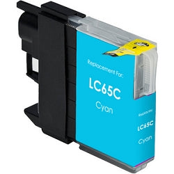 Compatible Brother LC65C Cyan High-Yield