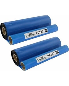 Brother PC202 (PC202RF) Thermal Fax Ribbon Refill Rolls (2 - Pack)
