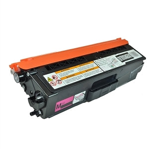 Compatible Brother TN336M Magenta Toner Cartridge, 3,500 Pages