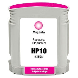 HP C4843A (,10) Magenta, New Compatible Inkjet Cartridge
