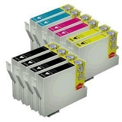 EPSON C84, CX6600 set of 10  New Compatible Inkjet Cartridge