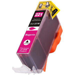 Canon CLI-221 Magenta Compatible Ink Cartridge