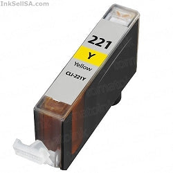 Canon CLI-221 Yellow, Compatible Ink Cartridge Compatible