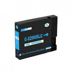 Canon PGI-2200XL Compatible Cyan High-Yield Ink Cartridge