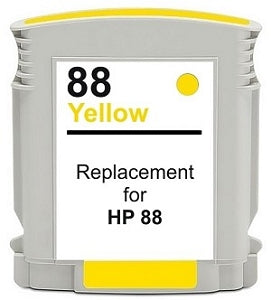 Compatible HP 88XL (C9393AN) Yellow High-Yield Ink